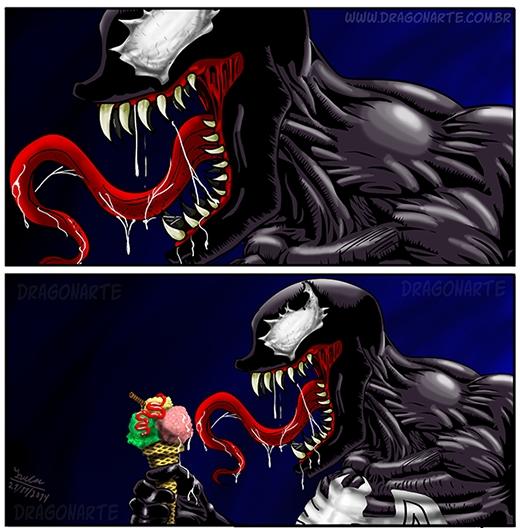 Chỉ là ăn kem thôi, đừng sợ! (Ảnh: Dragonate)