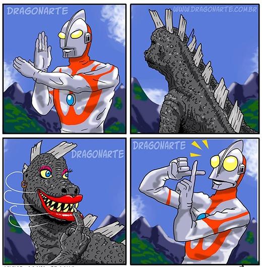 """""""Hết hồn!Anh gọi emà?"""" (Ảnh:Dragonate)"""