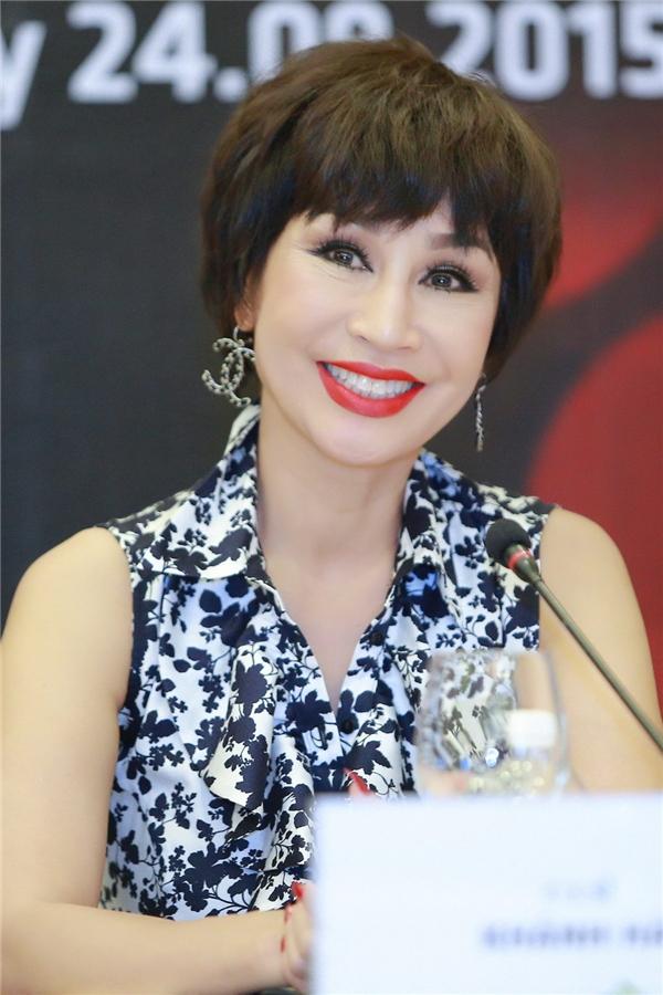 Ở độ tuổi 63, Khánh Hà vẫn giữ được nhan sắc trẻ trung đáng ghen tị. - Tin sao Viet - Tin tuc sao Viet - Scandal sao Viet - Tin tuc cua Sao - Tin cua Sao