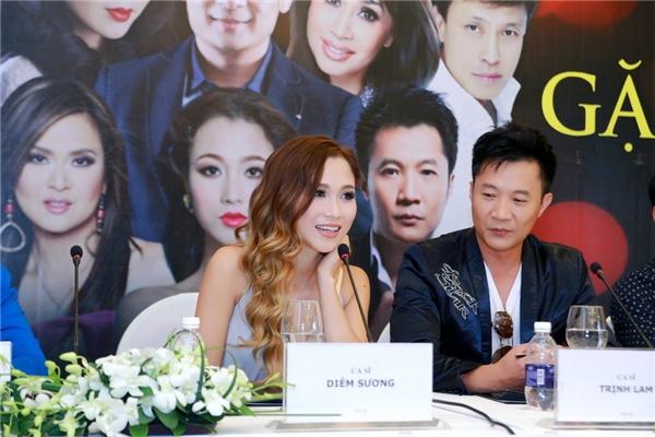 Đây là lần đầu tiên Diễm Sương về Việt Nam biểu diễn. Cô không giấu nổi sự háo hức khi được phục vụ khán giả ở quê hương. - Tin sao Viet - Tin tuc sao Viet - Scandal sao Viet - Tin tuc cua Sao - Tin cua Sao