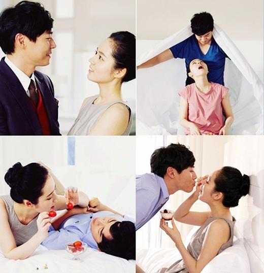 Những cặp đôi nên duyên vợ chồng nhờ phim ảnh