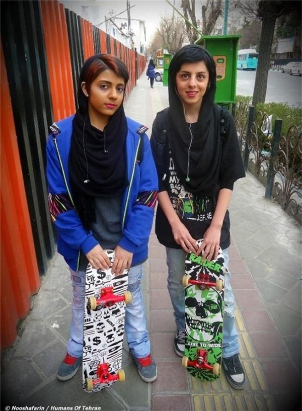 Những cô gái tuổi teen, Tehran.