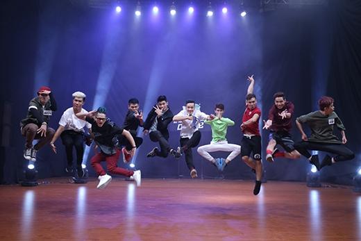 Top 10 thí sinh nam nổi bật nhất tại chương trình.