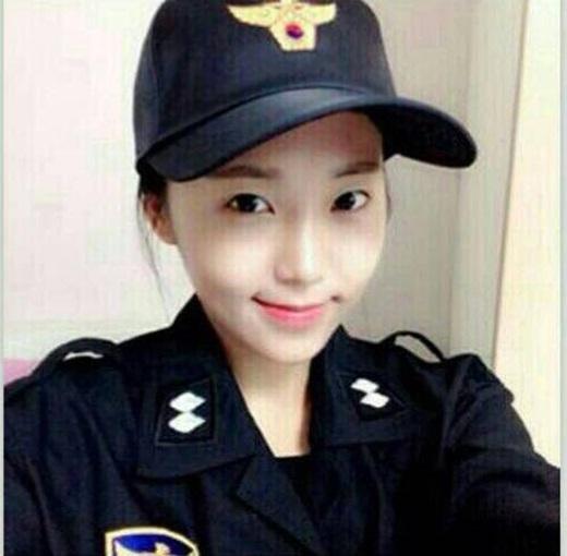 """Kim Miso là nữ cảnh sát xinh đẹp đang được """"truy lùng"""" ráo riết tại Hàn Quốc.(Ảnh Internet)"""
