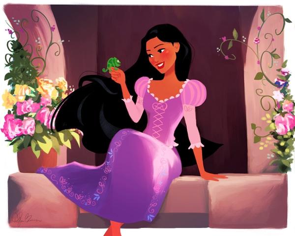 """Nàng hẳn sẽ ngồi nơi cửa sổ """"không biết chán"""" để đón gió cùng với chú tắc kè Pascal."""