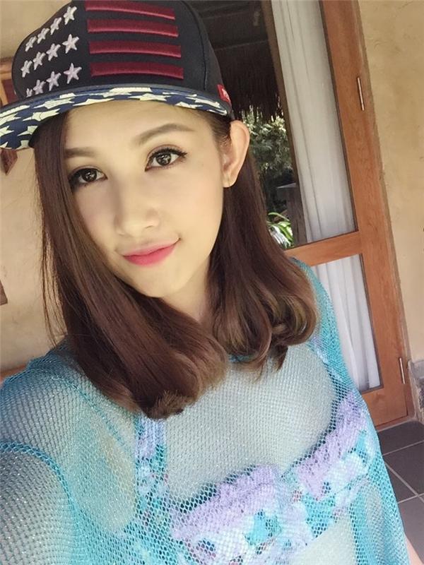 Với gương mặt xinh xắn và ngoại hình thon gọn, cô nàng được đánh giá sẽ là nhân vật sáng giá cho nền giải trí Việt trong tương lai. (Ảnh: Internet)