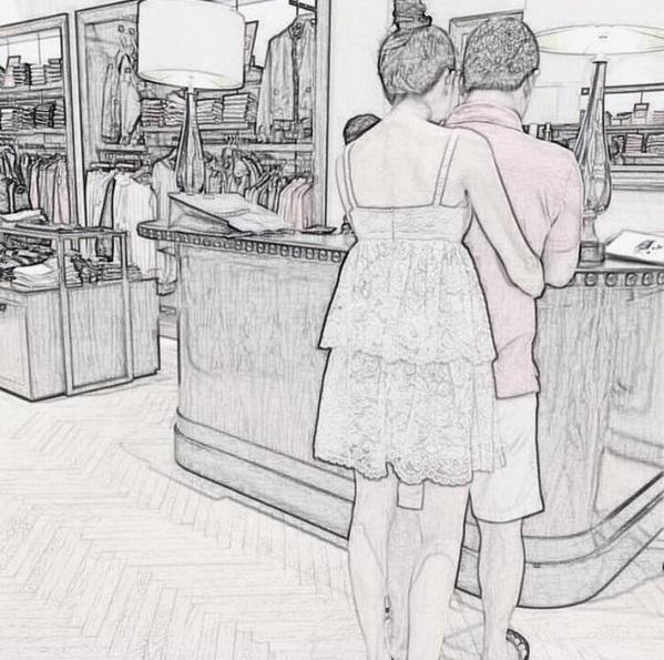 Trên instagram Ngọc Trinh không ngần ngại khoe ảnh tình cảm giữa hai người. - Tin sao Viet - Tin tuc sao Viet - Scandal sao Viet - Tin tuc cua Sao - Tin cua Sao