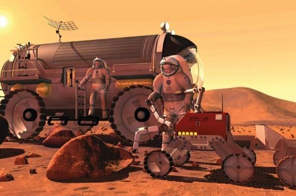 Giới khoa học hi vọng, một ngày nào đó con người có thể đặt chân lên Sao Hỏa.