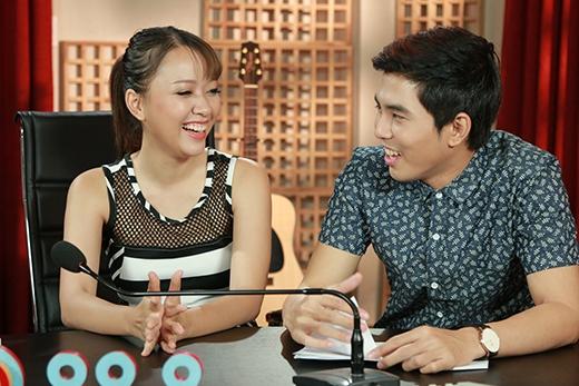 Băng Diluôn phải cười trong chương trình vì những chiêu trò của Will - Yumi.