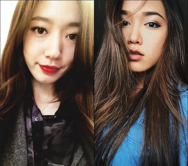 Park Shyn Hye(trái) -Bella Nguyễn(phải).(Ảnh Internet)