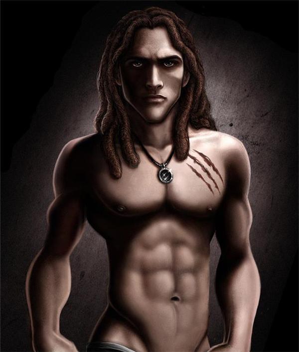 Cơ thể 8 múi bụi bặmcủa Tarzan khiến chàng trở nên vô cùng cuốn hút.