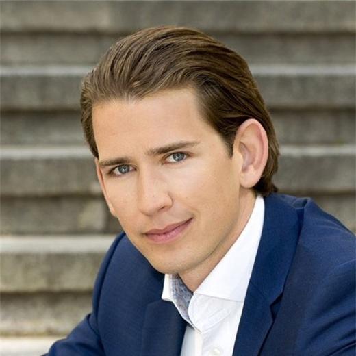 Ngoại trưởng Áo Sebastian Kurz. Ảnh: @sebastiankurz/Twitter