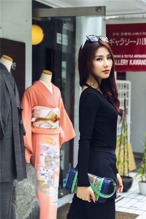 Diễm My xinh đẹp hút hồn trên đường phố Nhật Bản. - Tin sao Viet - Tin tuc sao Viet - Scandal sao Viet - Tin tuc cua Sao - Tin cua Sao