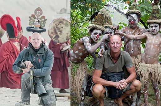 Trong 3 năm, nhiếp ảnh gia Jimmy Nelson đã chu du khắp nơiđể chụp lại những bộ lạc ít người và cũng ítai biết đến trên thế giới.(Nguồn:higherperspectives.com)