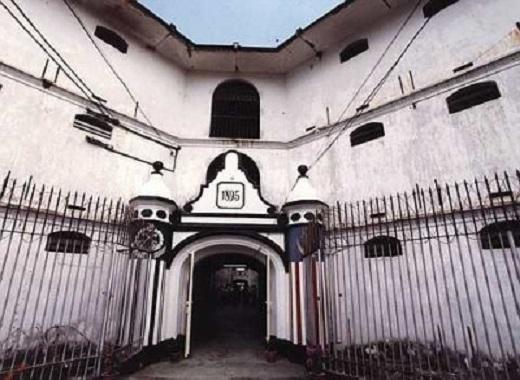 Nhà tù Pudu tọa lạc tại trung tâm của Kuala Lumpurlà nơi giam giữ những tội phạm khét tiếng nhất.(Nguồn: Internet)