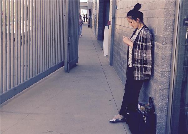 Cô đang theo học thêm tiếng Anh tại một ngôi trường lớn ở Mỹ. - Tin sao Viet - Tin tuc sao Viet - Scandal sao Viet - Tin tuc cua Sao - Tin cua Sao