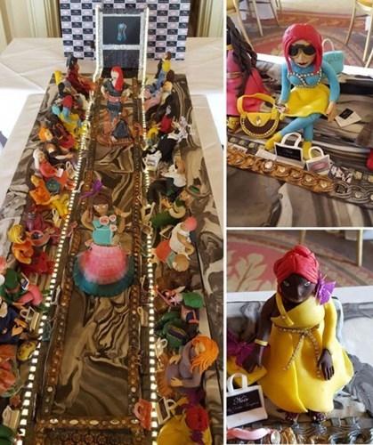 Một gia đình giàu có người Ảrập khiến cả thế giới choáng khi chi tới 75 triệu USD để đặt một chiếc bánh sinh nhật tặng con gái. Với 4.000 viên kim cương trang trí, đây được xem là chiếc bánh sinh nhật đắt nhất thế giới.