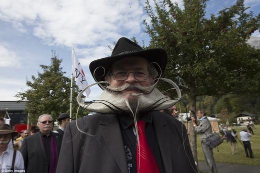 Bạn có liên tưởng đến convật nào đókhi nhìn thấy bộ râu này không? (Ảnh: Getty Images)