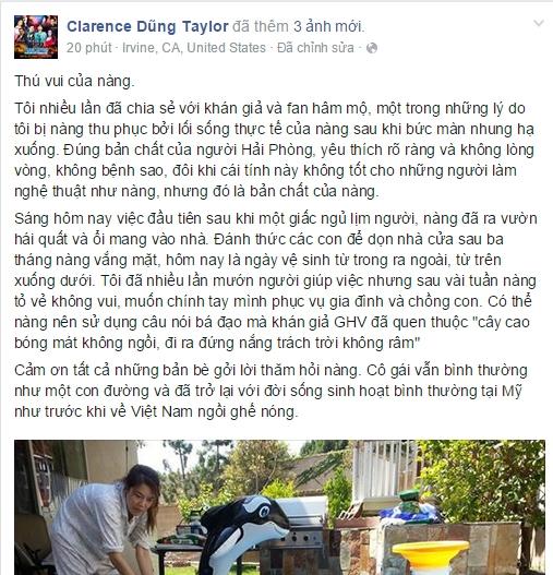 Dũng Taylor chia sẻ về thú vui của vợ sau khi về nước. - Tin sao Viet - Tin tuc sao Viet - Scandal sao Viet - Tin tuc cua Sao - Tin cua Sao