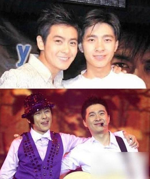 Anh trai và Lâm Chí Dĩnh đều ngoài 40 tuổi nhưng vẫn rất trẻ trung, phong độ.