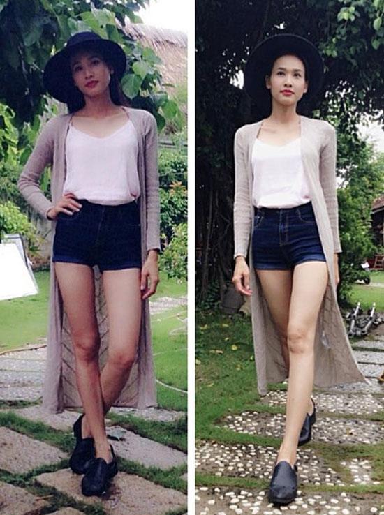 Áo choàng nhẹ dài gần chấm gót dành riêng cho nàng cao ráo, chân dài giống Dương Mỹ Linh.