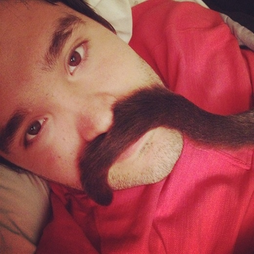 Bộ râu đỉnh nhất năm.(Nguồn: 9gag)