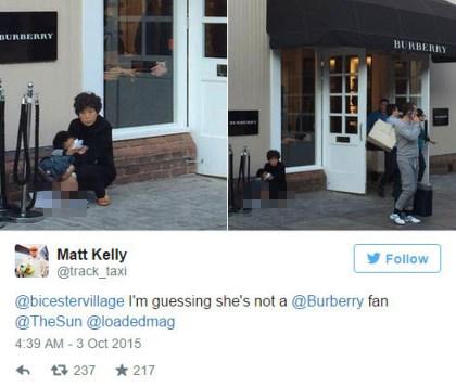 Hình ảnh được một người nước ngoài chụp và đăng trên internet đã tạo ra một phản ứng dữ dội từ cộng đồng mạng.