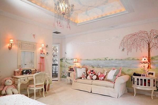 Những căn phòng như thế này là niềm ước ao của biết bao đứa trẻ.