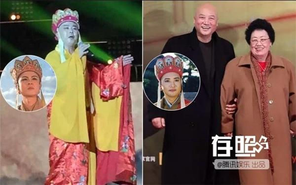 Từ Thiếu Hoa (trái) và Trì Trọng Thụy cùng vợ.
