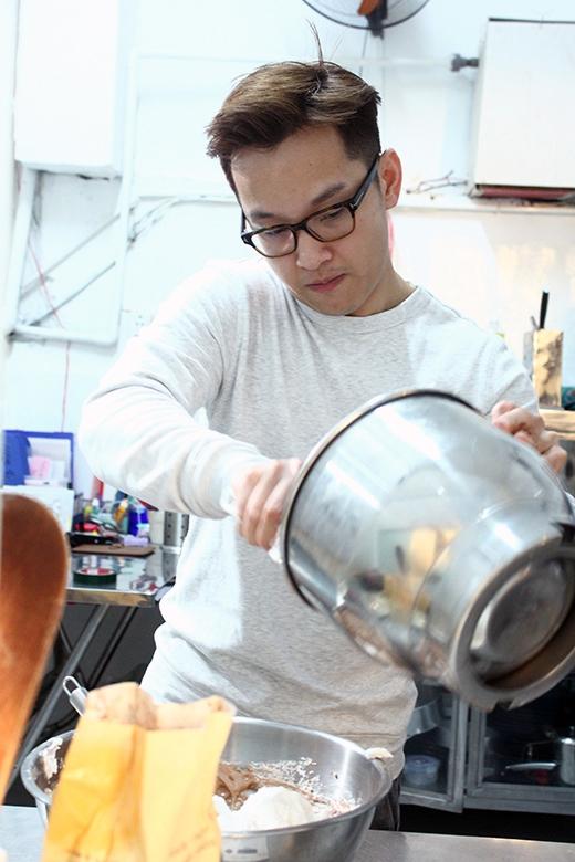 Yun chia sẻ, du lịch là một nguồn cảm hứng và kinh nghiệm lớn để anh phát hiện ra những công thức mới, nguyên liệu mới cho món bánh của mình.