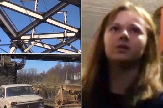 """Một cô bé 17 tuổi có tênXenia Ignatyeva ở thành phố Saint Petersburg, Nga cũng đã bỏ mạng khi cố gắng leo lên chiếc cầu sắt để chụp ảnh """"tự sướng"""". Khi leo lên, do sơ ý mà cô bé bị trượt ngã rồivướng vào dây điện cao thế. Hậu quả là toàn thân Xenia bị cháy đen và chết sau đó (Ảnh: Internet)"""