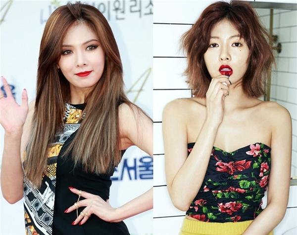 Ngoài việc sở hữu thân hình quyến rũ, mái tóc ngắn cũng giúp ít khá nhiều cho HyunAtrong việc tăng cường sức cuốn hút.