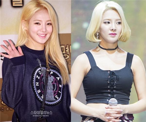 Không chỉ Sooyoung mà cả Hyoyeon cũng không ngần ngại hisinh mái tóc dài cho lần trở lại này, đủ thấy SNSD đầu tư vào lần trở lại này nhiều cỡ nào.