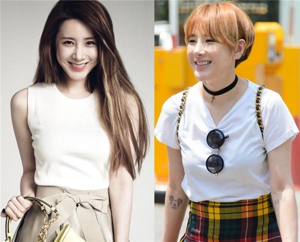 Dù đã bước sang tuổi 31 nhưng Seo In Young trông vẫn vô cùng trẻ trung và xinh đẹp nhờ vào mái tóc ngắn của nữ thần tượng.