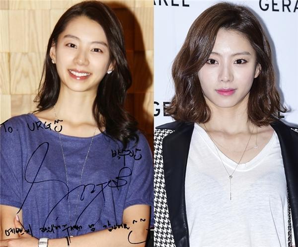 Vợ Bae Yong Jun – Park Soo Jin, cũng được khuyên nên để tóc ngắn giúp cô trông quyến rũ và sành điệu hơn rất nhiều.