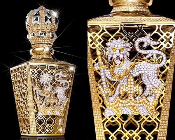 """Chi tiết tinh xảo trên chai nước hoa đắt nhất thế giới """"No 1 Passant Guardant""""."""