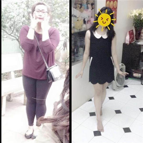 """Những cô nàng gây """"choáng"""" khi biến hoá xinh đẹp nhờ giảm cân"""