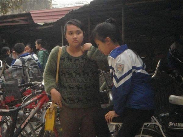 """Hình ảnh của Khánh Huyềnngày còn """"mập mạp"""".(Nguồn: Internet)"""