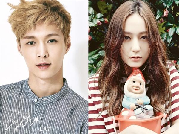 Fan háo hức khi Krystal được kết đôi cùng Lay (EXO)
