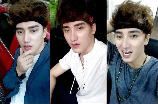 """Hà Nhuận Namsở hữu gương mặt đượcso sánh như """"hot boy Thái""""."""