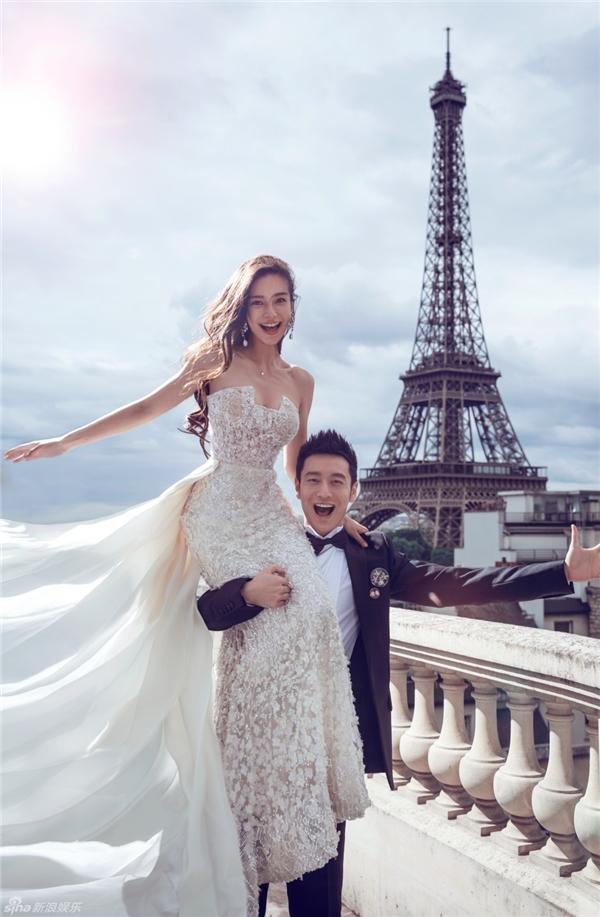 Bộ ảnh cưới đẹp như mơ khiến nhiều người ganh tị.