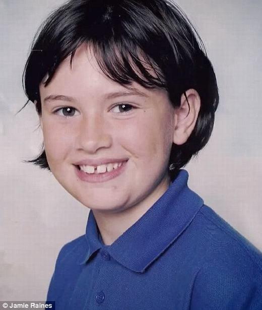 Hình ảnh Jamie trước khi chuyển giới. (Ảnh: Facebook)