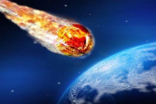 Thiên thạch là mối đe dọa lớn đối với Trái đất. (Ảnh: Internet)