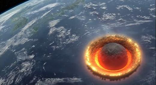 Thật khó có thể tưởng tượng ra được hậu quả nếu chúng đâm vào Trái đất. (Ảnh: Internet)