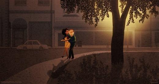 Không gian lãng mạn buổi tối dành cho các cặp đôi. (Nguồn: Internet)