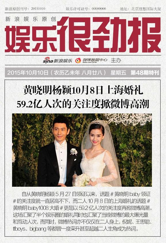 Gần 6 tỉ lượt người theo dõi đám cưới của soái ca Huỳnh Hiểu Minh