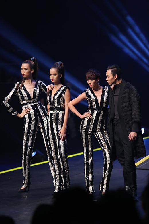 Để vươn đến ngôi vị quán quân, top 4 thí sinh xuất sắc nhất đã trải qua 2 phần thi cơ bản như thường lệ: catwalk và chụp ảnh.