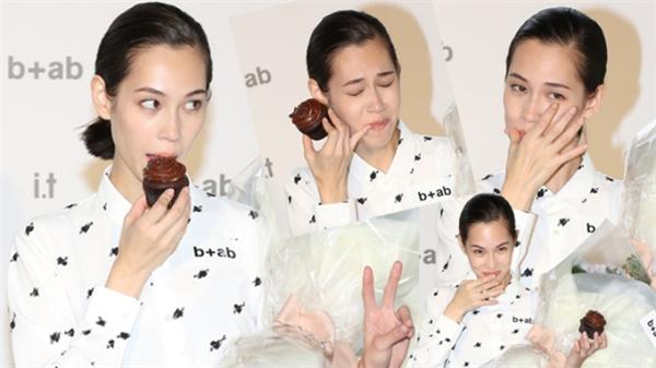 Kiko trong sự kiện tại Hong Kong vào ngày 12/10.
