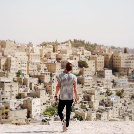 Ngẩn ngơ trước nét đẹp tối giản củaAmman, Jordan.(Nguồn IG @jasoncharleshill)