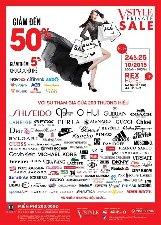 """200 thương hiệu đình đám thế giới """"phủ kín"""" khách sạn Rex"""